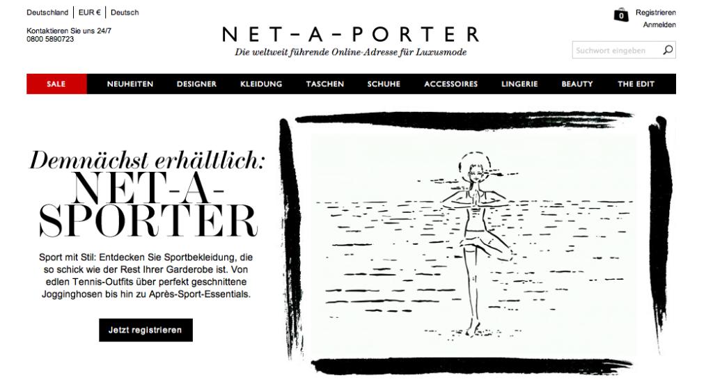 Vorankündigung Net-A-Sporter.com