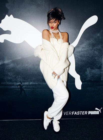 Rihanna arbeitet zukünftig als Kreativdirektorin für PUMA