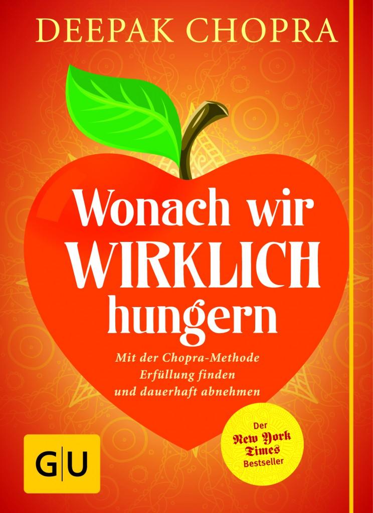 """Buchcover: """"Wonach wir wirklich hungern"""" von GU"""
