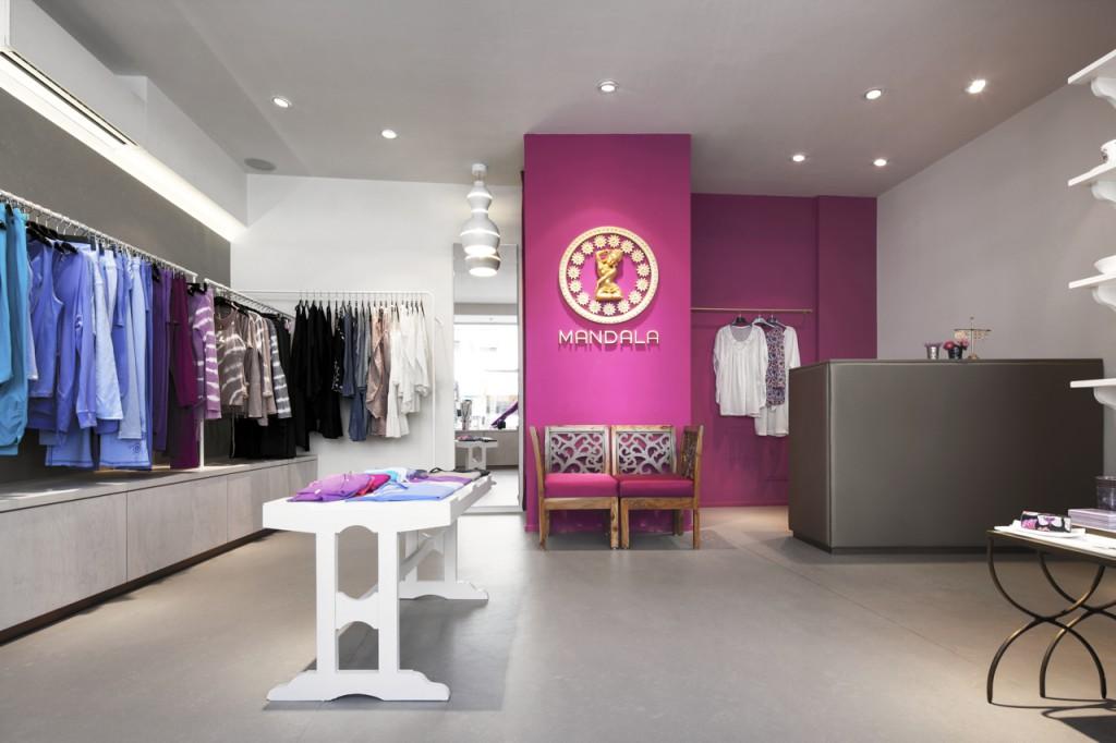 Mandala Store in München by Andreas Hoernisch