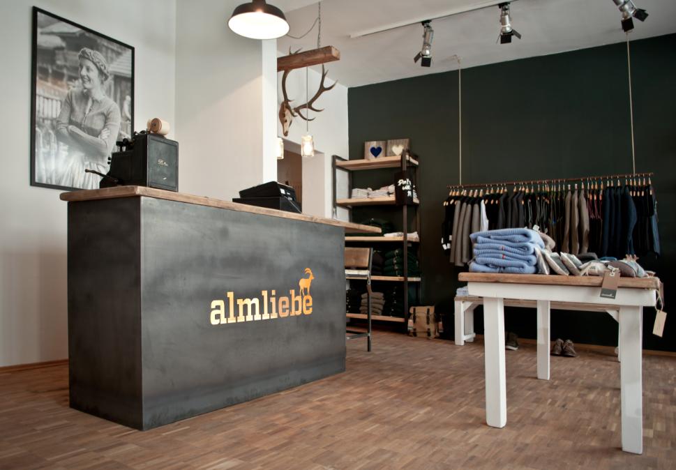 Almliebe Store in München