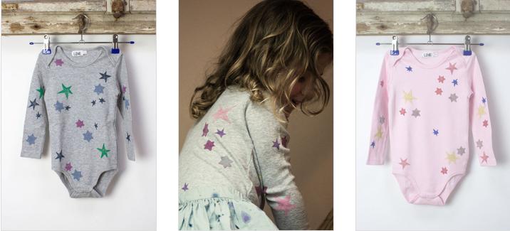 Love Kidswear Bodys mit Sternen