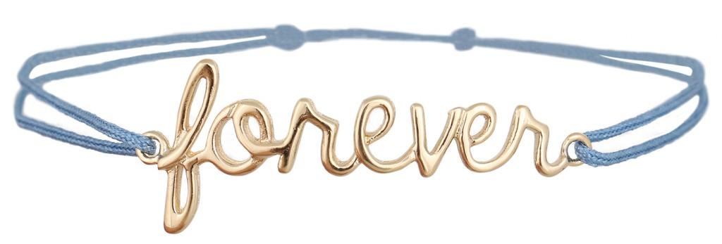 """Armband """"Forever"""" von Delphine Pariente, erhältlich für 59,90 Euro über www.REYERlooks.com"""
