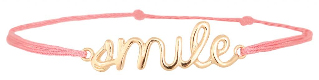 """Armband """"Smile"""" von Delphine Pariente, erhältlich für 59,90 über www.REYERlooks.com"""
