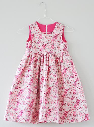 festliches Sommerkleid für Mädchen von Sonnenkitz