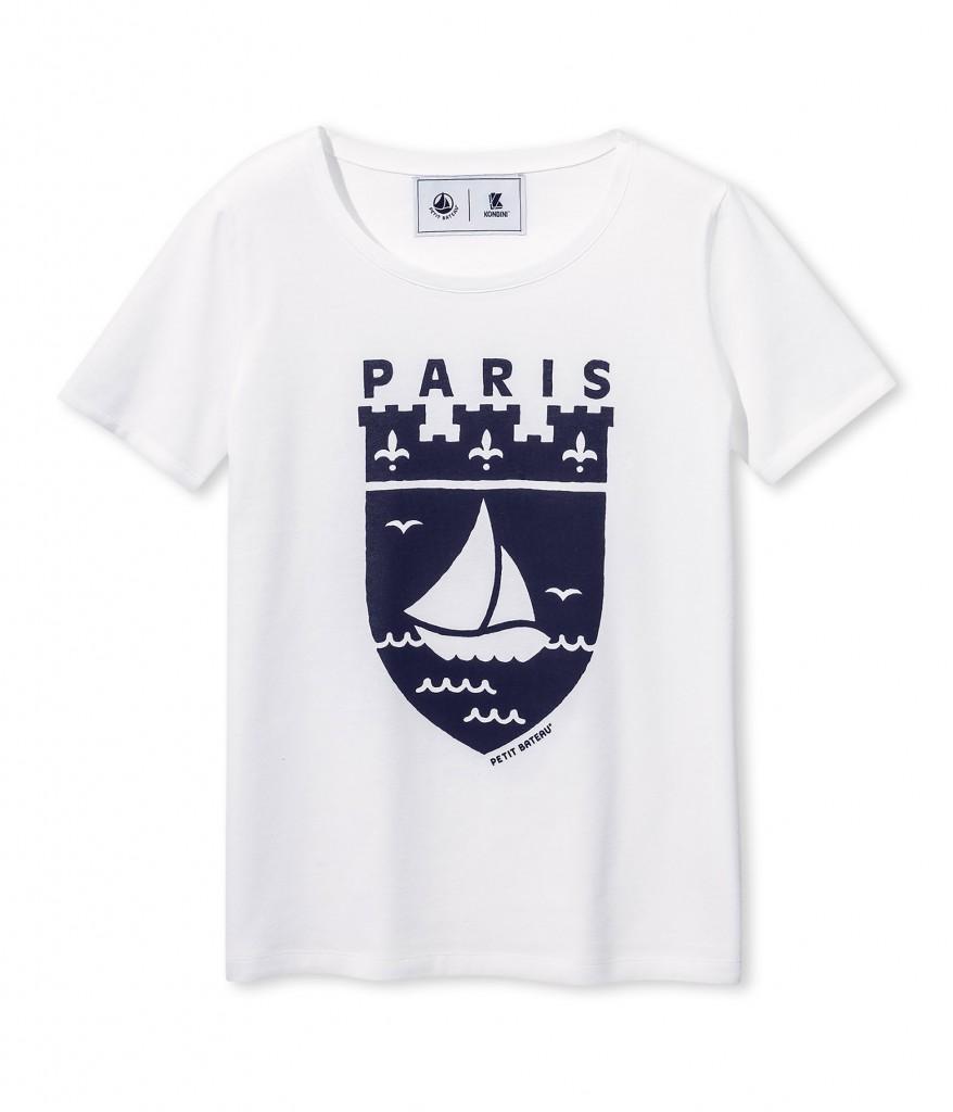 Petit Bateau_Paris-Shirt