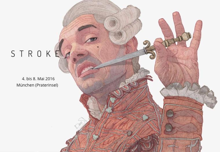 Stroke Art Fair Werbeplakat