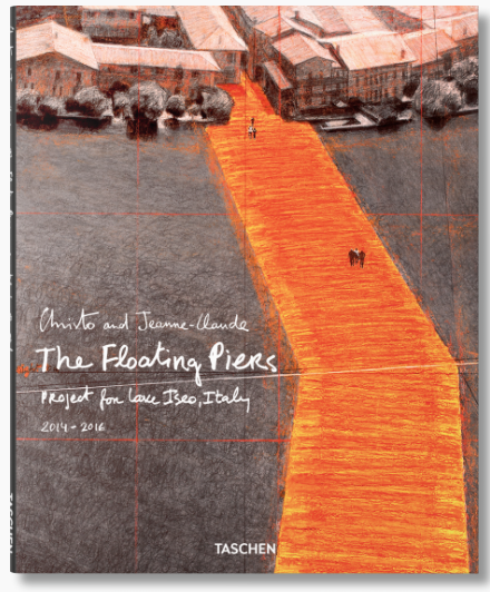 The Floating Piers by Christo, erschienen bei Taschen