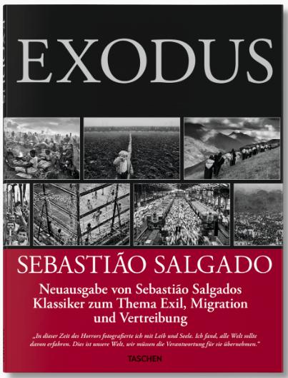Exodus Buchcover, erschienen bei TASCHEN