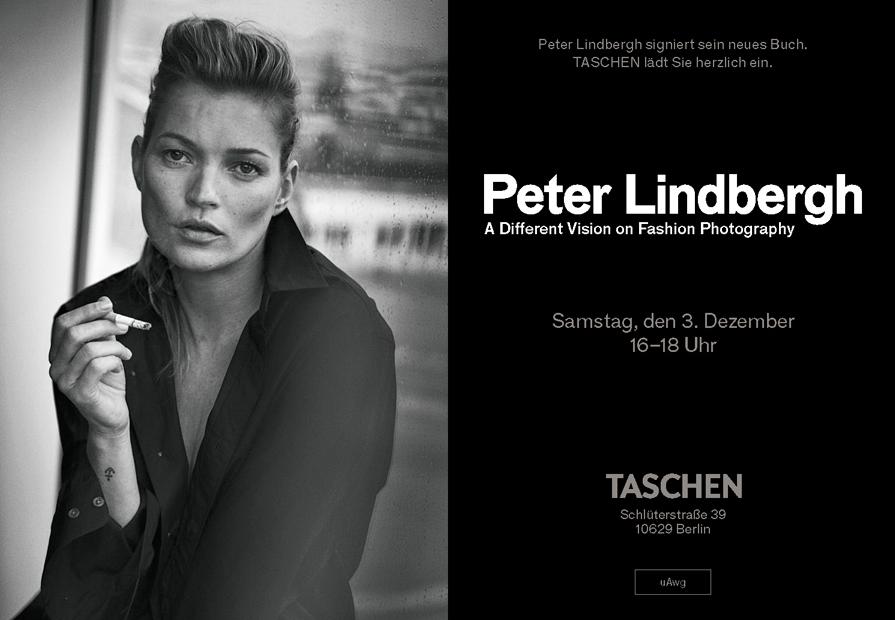 Einladung Peter Lindbergh Taschen Store Berlin