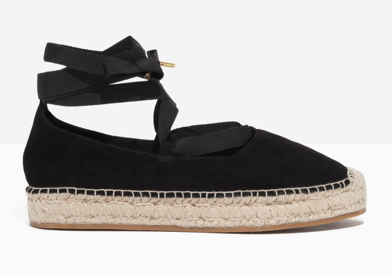 Lace-up Espadrilles & Other Stories